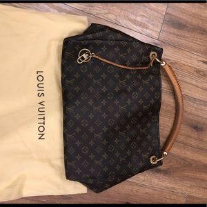 LOUIS VUITTON / Artsy MM braided handle bag
